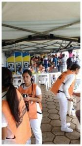 Prefeitura participa do evento 'Saúde na Estrada'