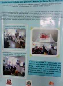 Profissionais da Saúde Bucal de Itararé apresentam trabalho em Congresso de Odontologia