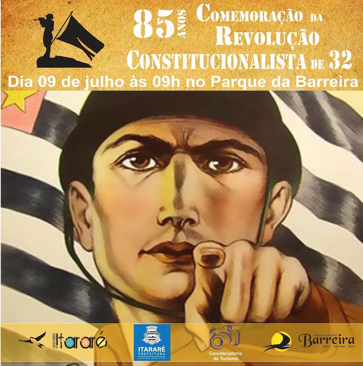Prefeitura de Itararé (SP) promove evento em comemoração à Revolução Constitucionalista de 1932