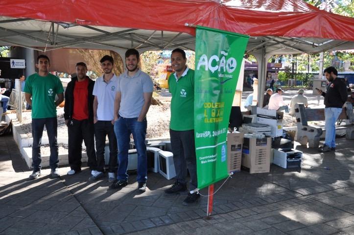 Projeto E-lixo recolhe duas toneladas de equipamentos em Itararé