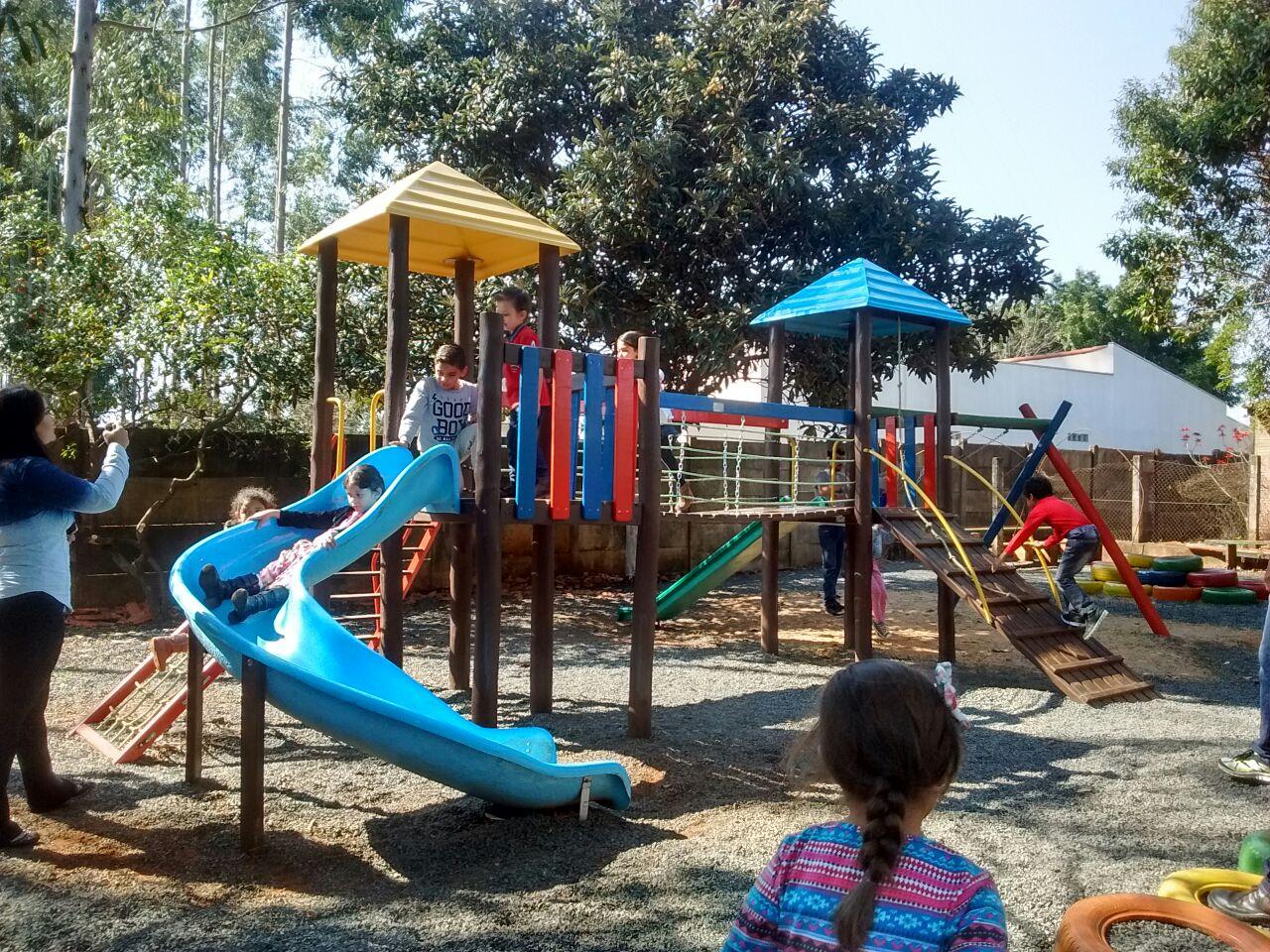Educação de Itararé (SP) inaugura parques infantis em escolas de Educação Infantil