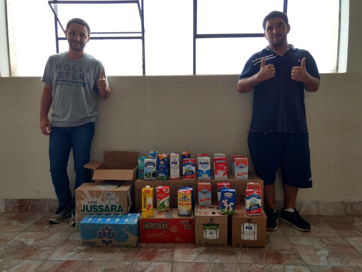 Prefeitura de Itararé (SP) arrecada mais de 200 litros de leite através do Esporte