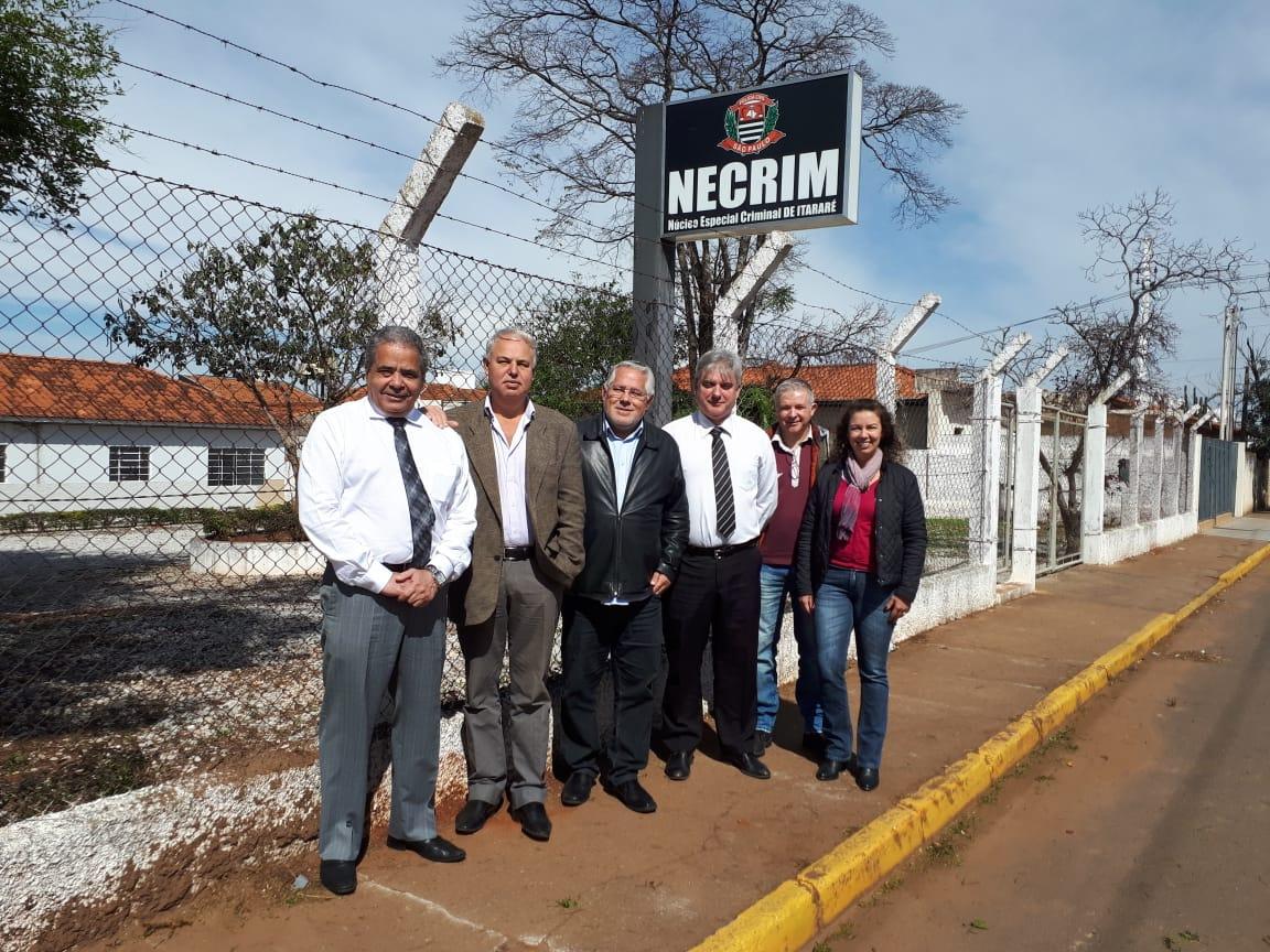 Prefeitura de Itararé (SP) realiza visita às obras do Núcleo Especial Criminal