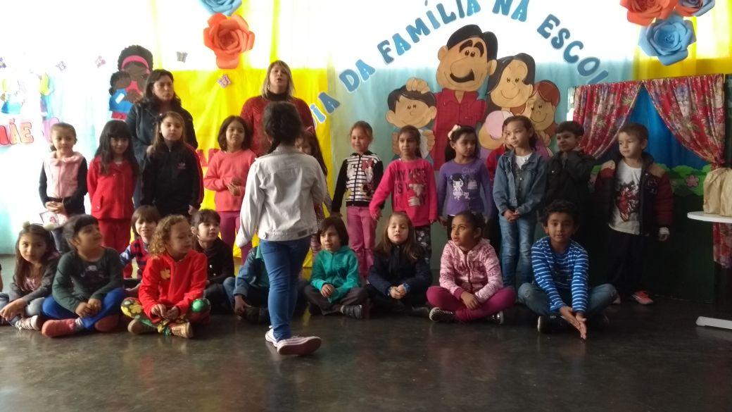EM Profª Ione de Itararé (SP) realiza Dia da Família na Escola