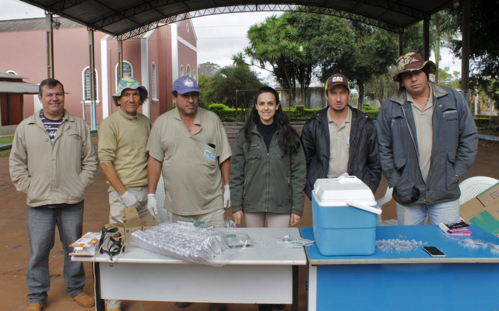 Em ação inédita, Prefeitura de Itararé (SP) promove vacinação de cães na zona rural do município