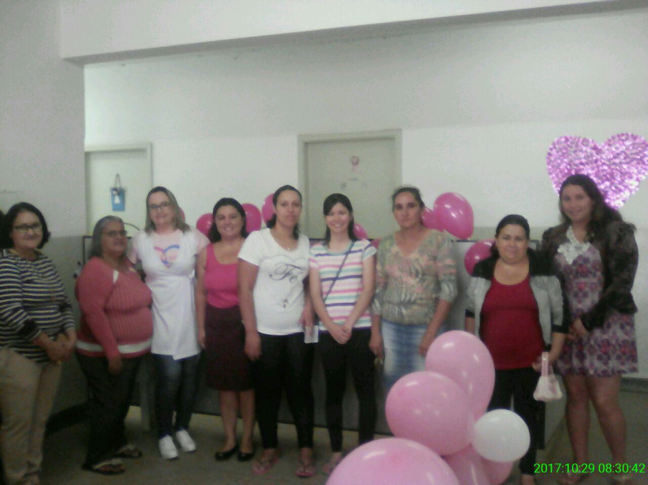 Saúde de Itararé (SP) promove o 'Domingo Rosa'