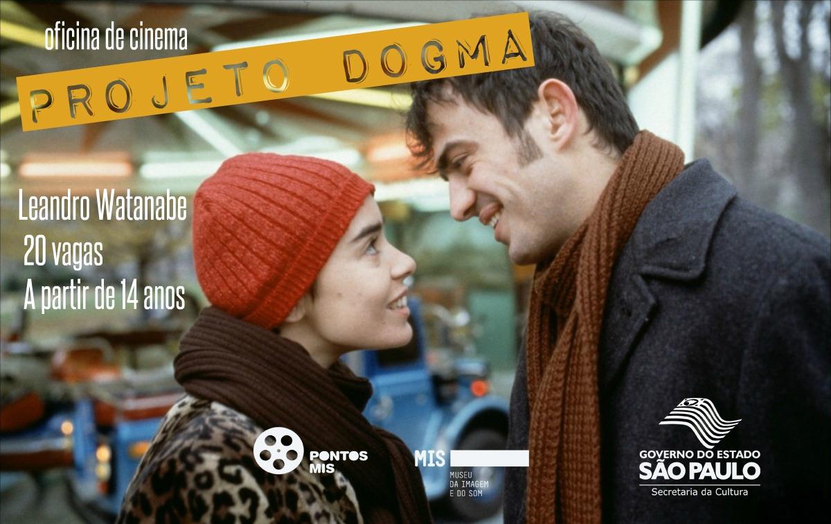 Abertas as inscrições para oficina de cinema 'Projeto Dogma'