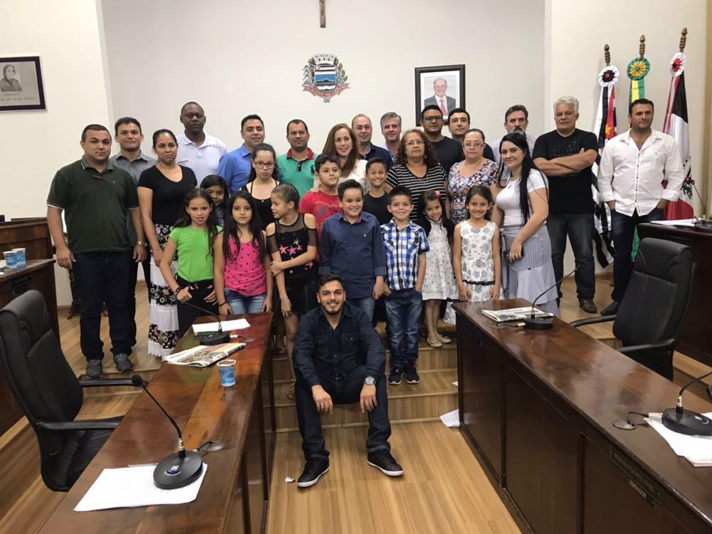 EM Adriano Queiroz Pimentel de Itararé (SP) recebe voto de congratulações da Câmara Municipal