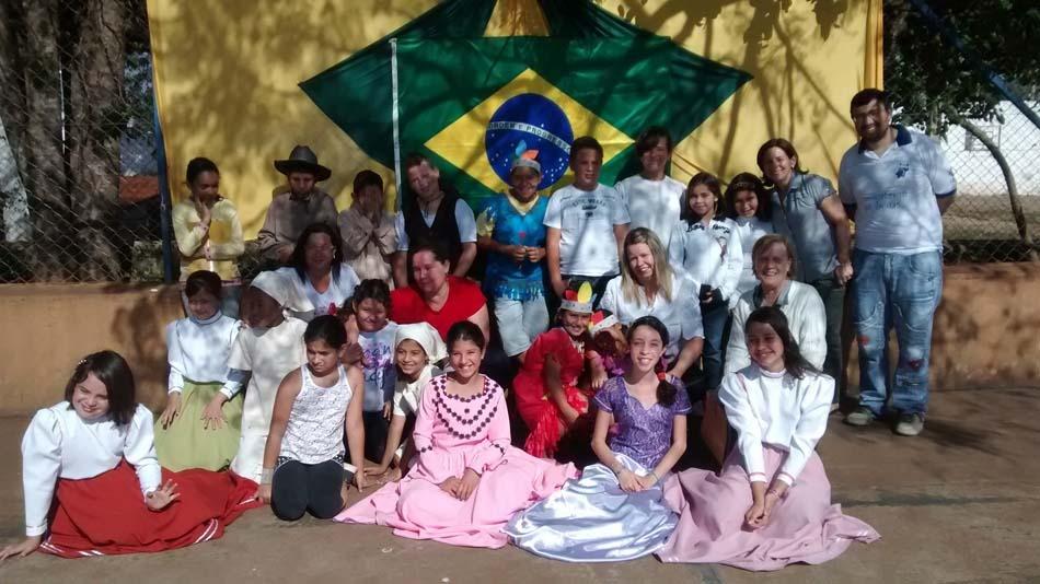 Escolas da Rede Municipal comemoraram a Semana da Pátria