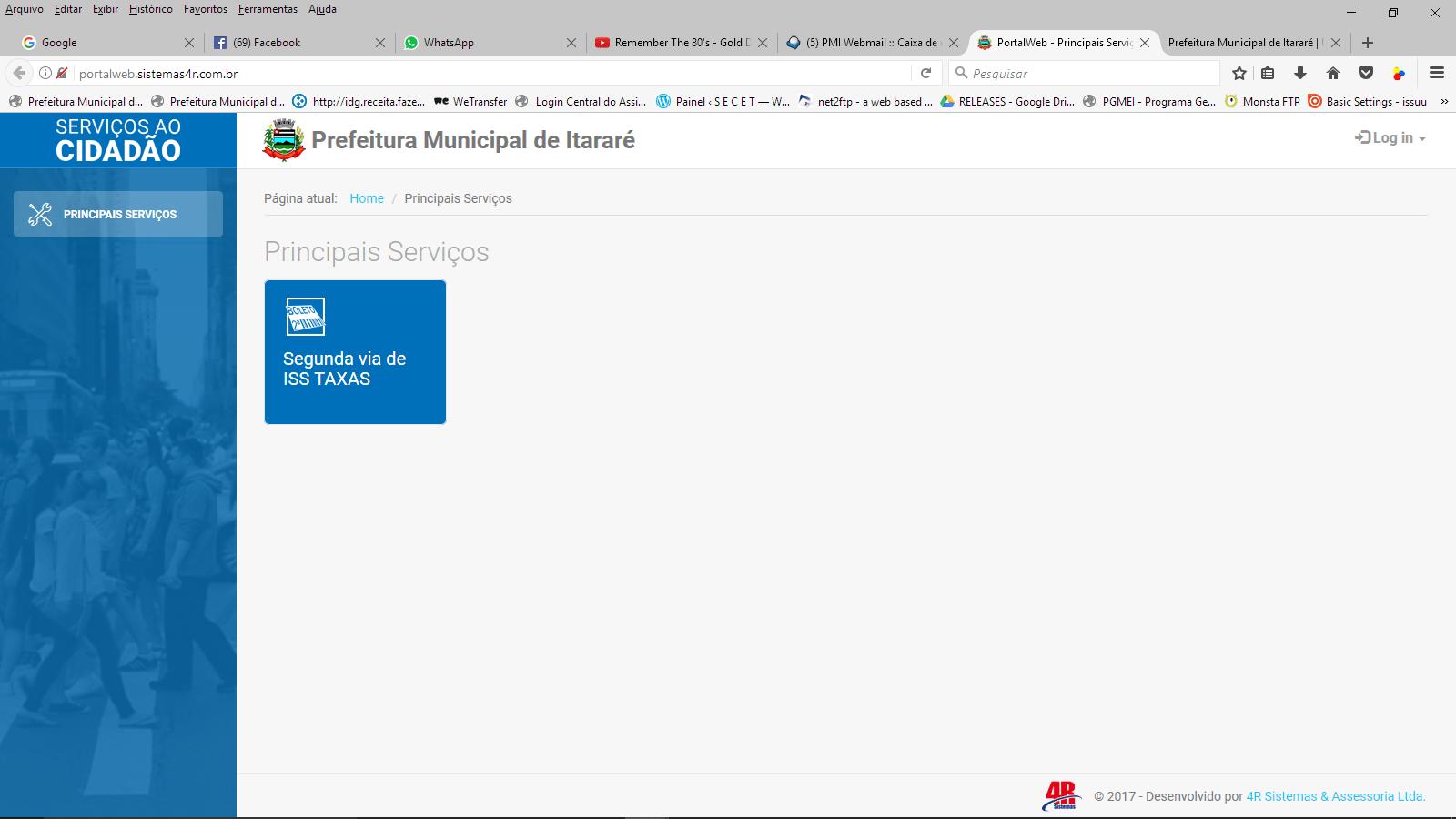 Prefeitura de Itararé (SP) disponibiliza guias de alvará e ISS online
