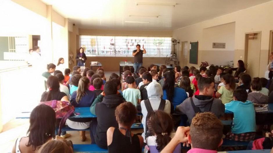 Para valorizar o campo, EM Messias Sodré (Pedra Branca) promove palestra sobre o tema
