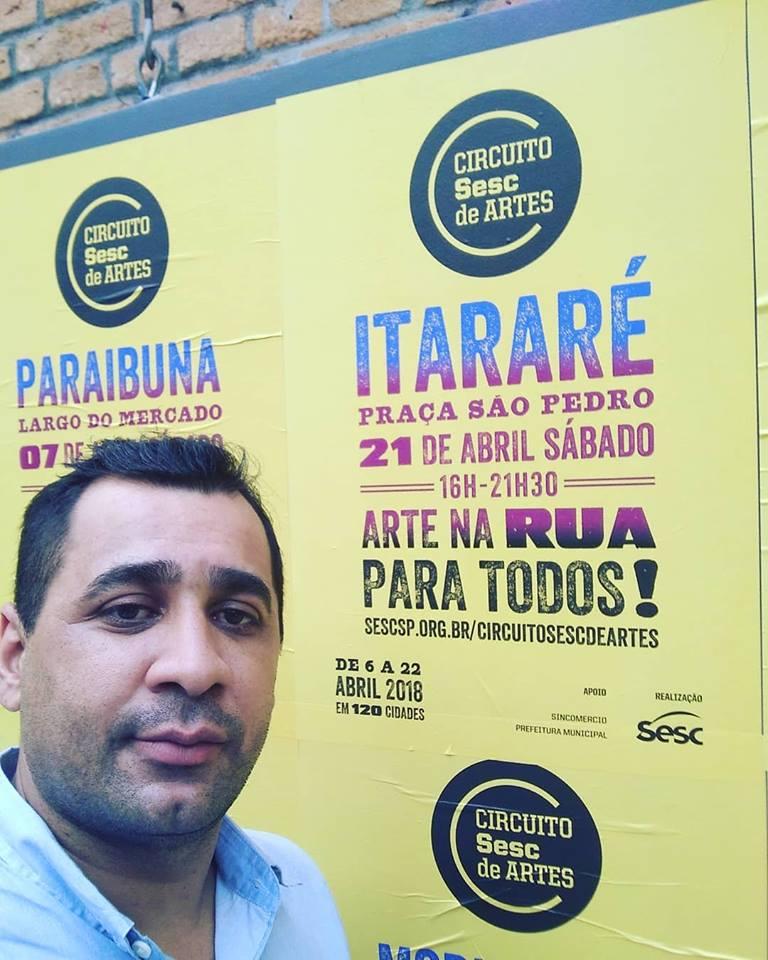 Itararé (SP) participa de lançamento do Circuito Sesc de Artes 2018