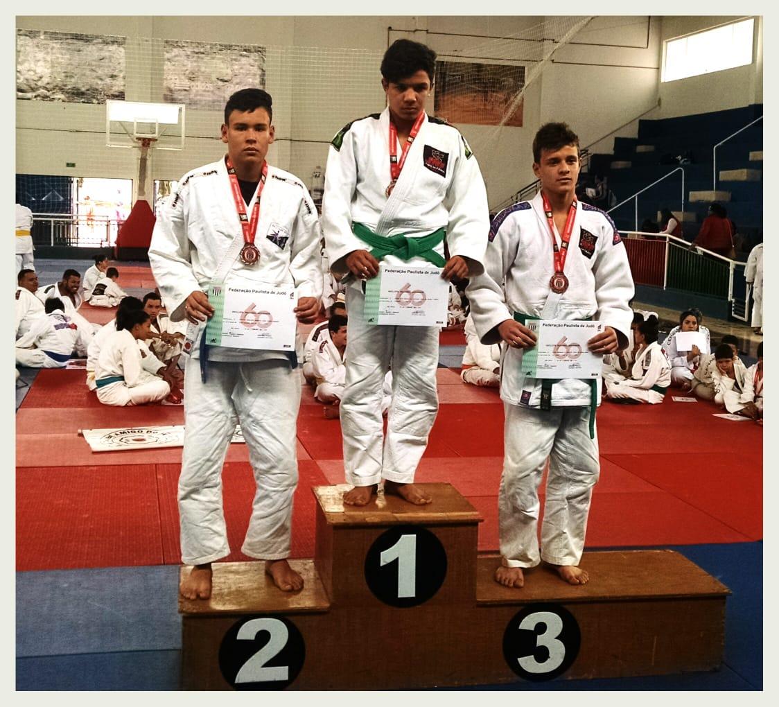 Itararé (SP) conquista três medalhas no Campeonato Paulista Aspirante de Judô