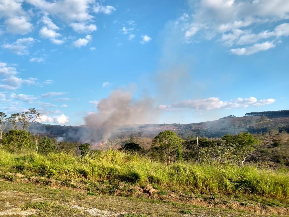 Incêndios florestais: Prefeitura de Itararé (SP) solicita mais cuidado da população para evitar perdas ambientais e paisagísticas