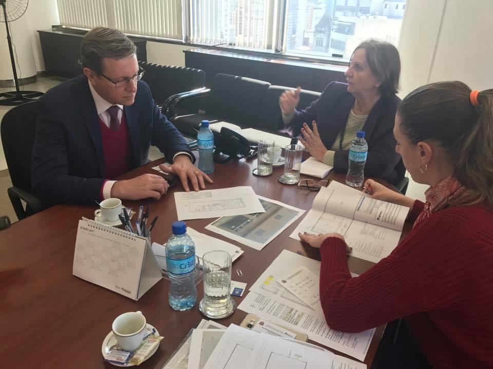 Prefeito de Itararé se reúne com vice-presidente do Detran-SP