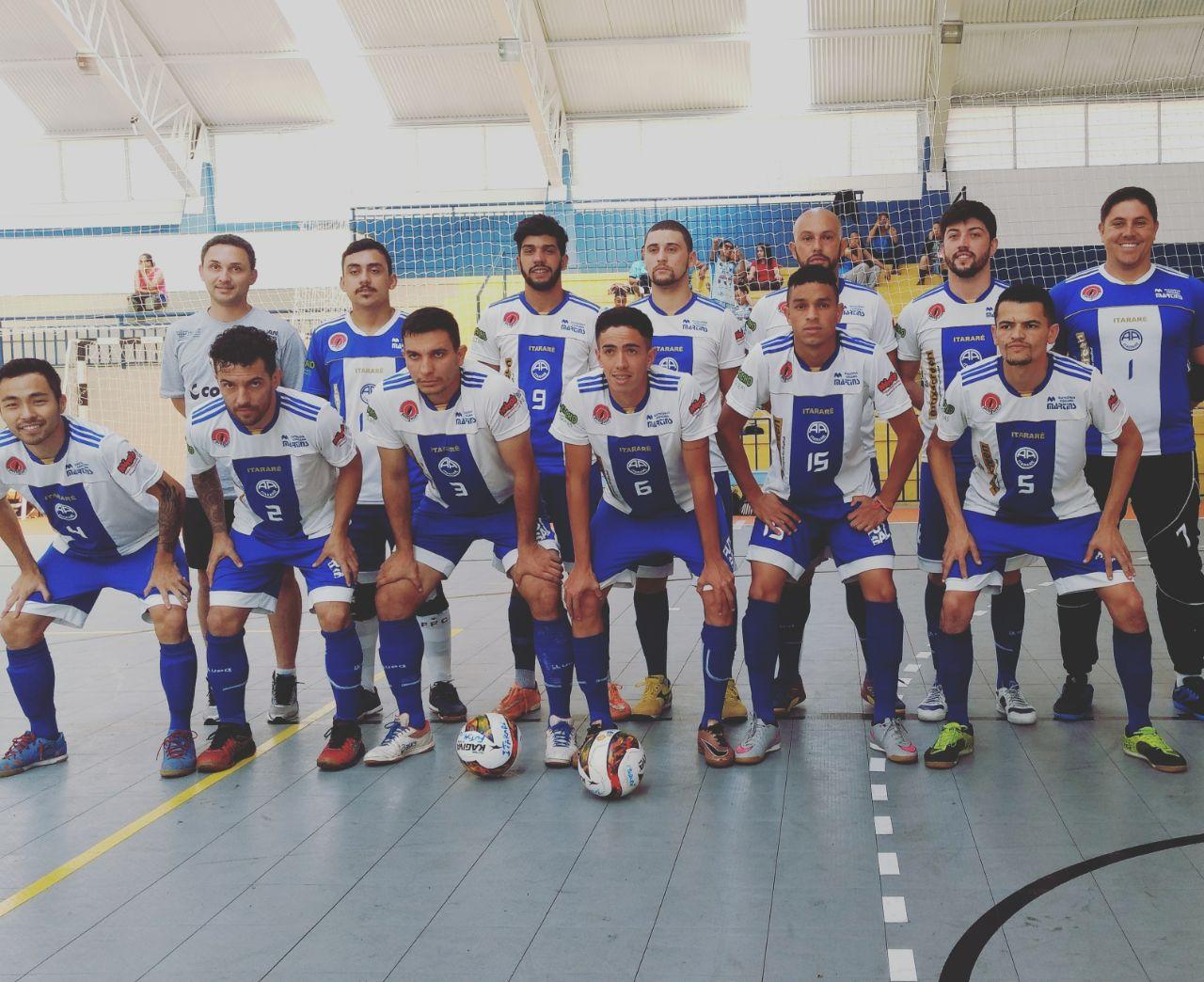 Equipes de Futsal de Itararé estreiam com vitória nos Jogos Regionais
