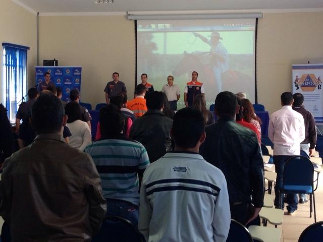 Integrantes da Defesa Civil de Itararé participam de Oficina em Capão Bonito