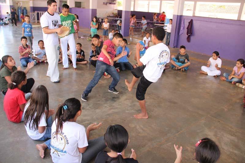 Tiveram início as atividades do 'Mais Cultura nas Escolas' no Novo Horizonte