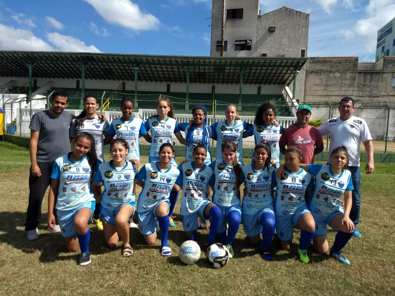 Futebol feminino de Itararé (SP) é vice campeão dos Jogos Abertos da Juventude