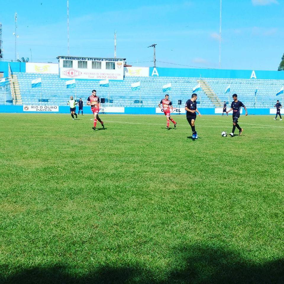 Campeonato Municipal de Futebol teve última rodada do ano em Itararé (SP)