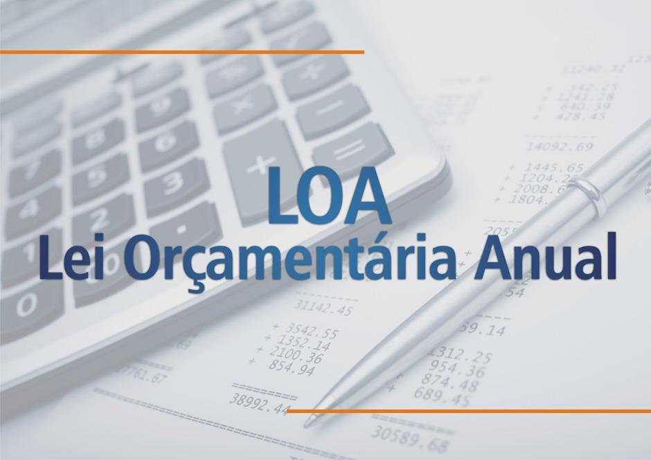 C O M U N I C A D O:  LOA (Lei Orçamentária Anual)