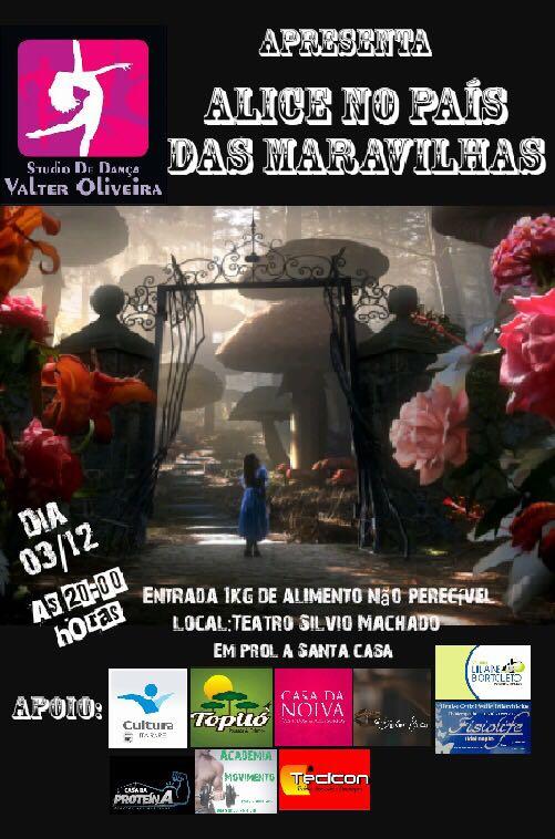 Domingo (03) tem espetáculo de dança em Itararé (SP)