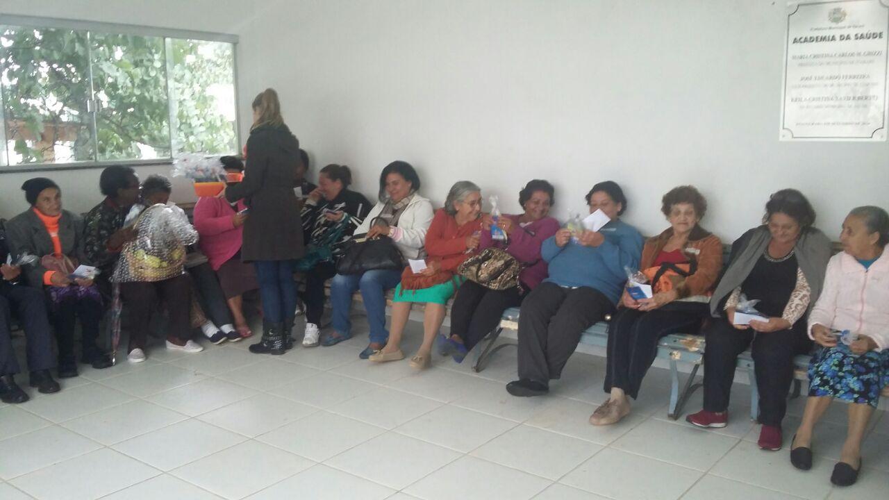 Unidade de Saúde de Itararé promove encontro da melhor idade