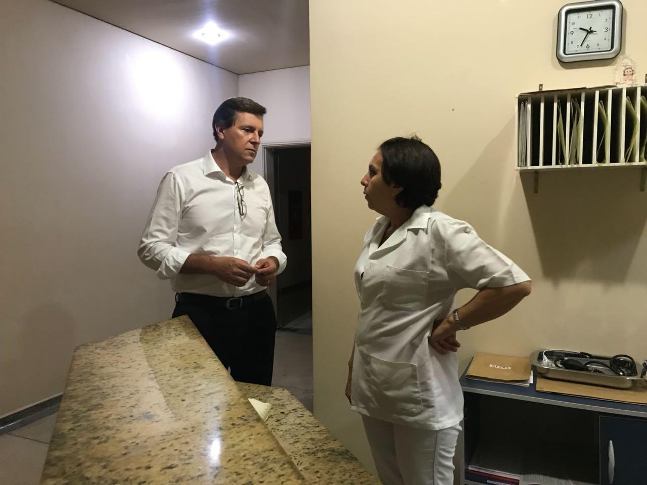 Prefeito de Itararé (SP) faz visita surpresa a Santa Casa