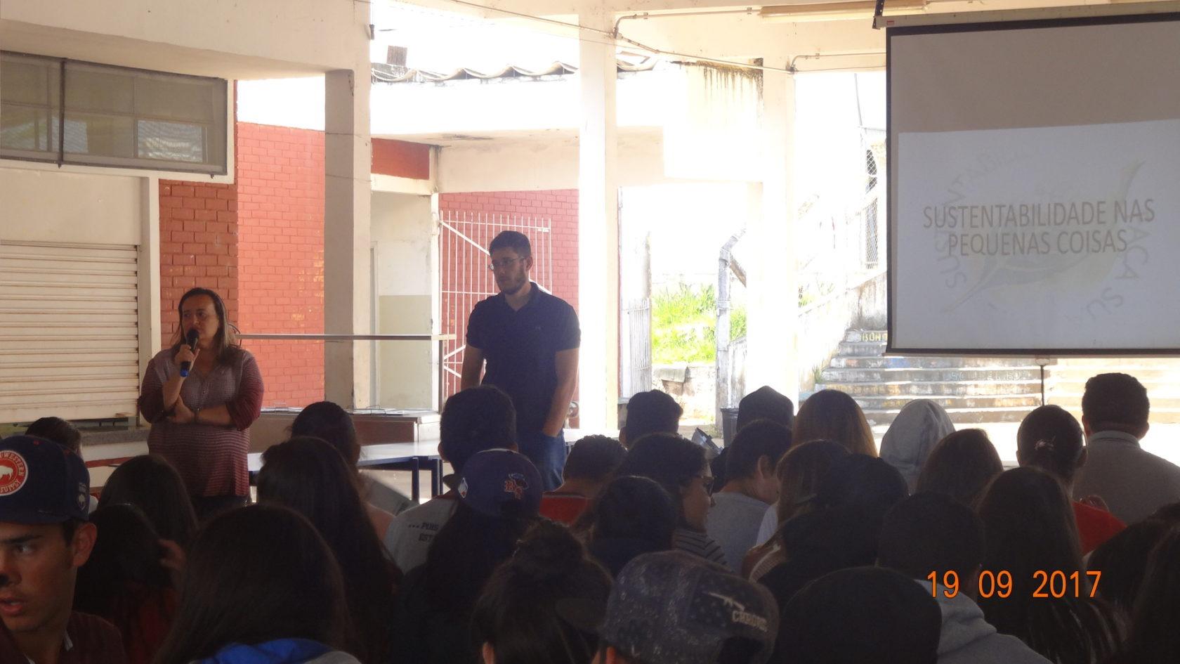 Coordenadoria de Meio Ambiente de Itararé (SP) realiza palestra sobre sustentabilidade