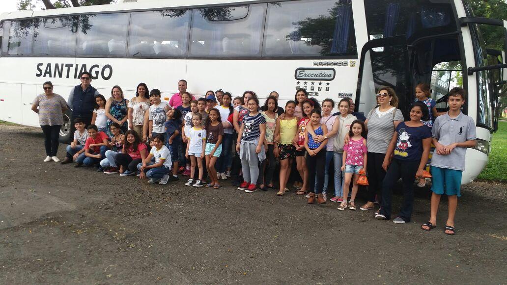 Alunos de Itararé (SP) são contemplados com viagem