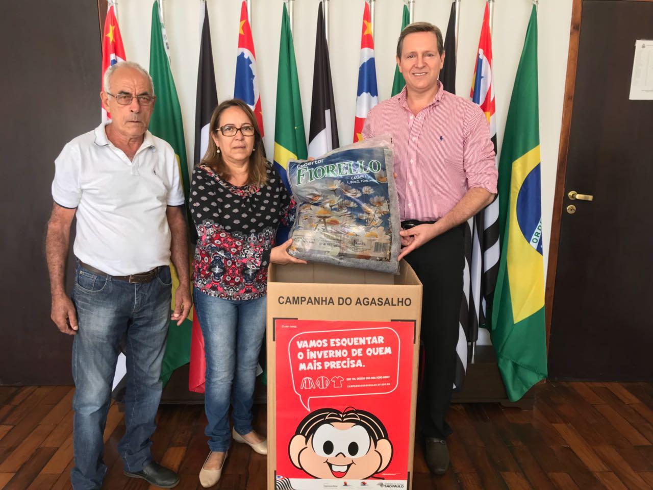 Prefeito de Itararé (SP) lança Campanha do Agasalho 2018