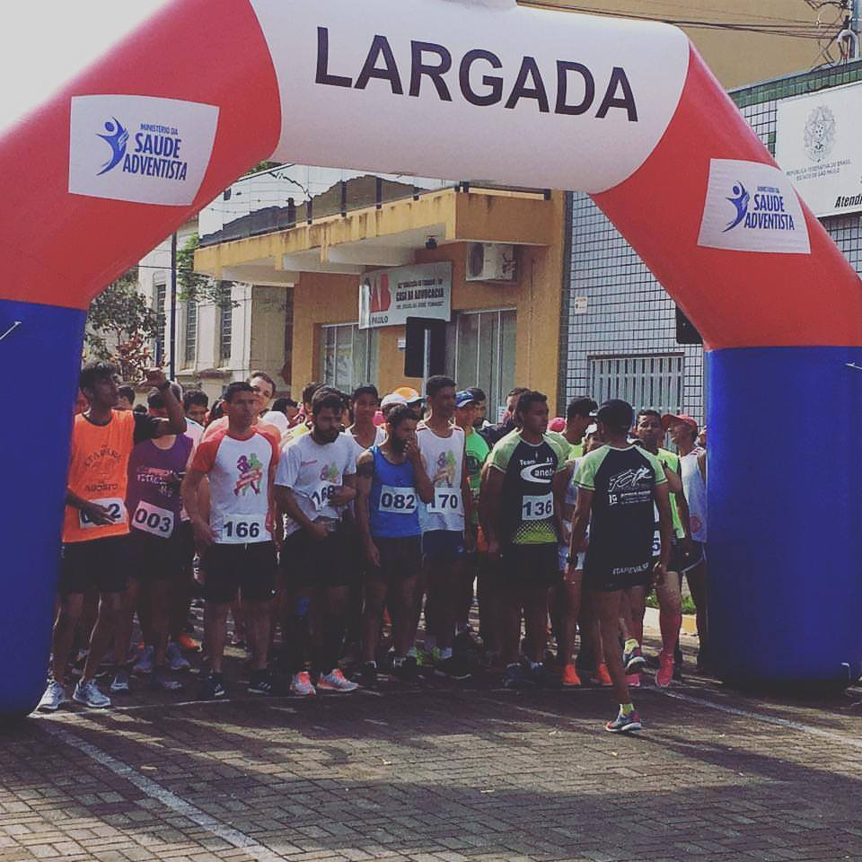 4ª corrida pedestre de Itararé (SP) atrai mais de 180 atletas