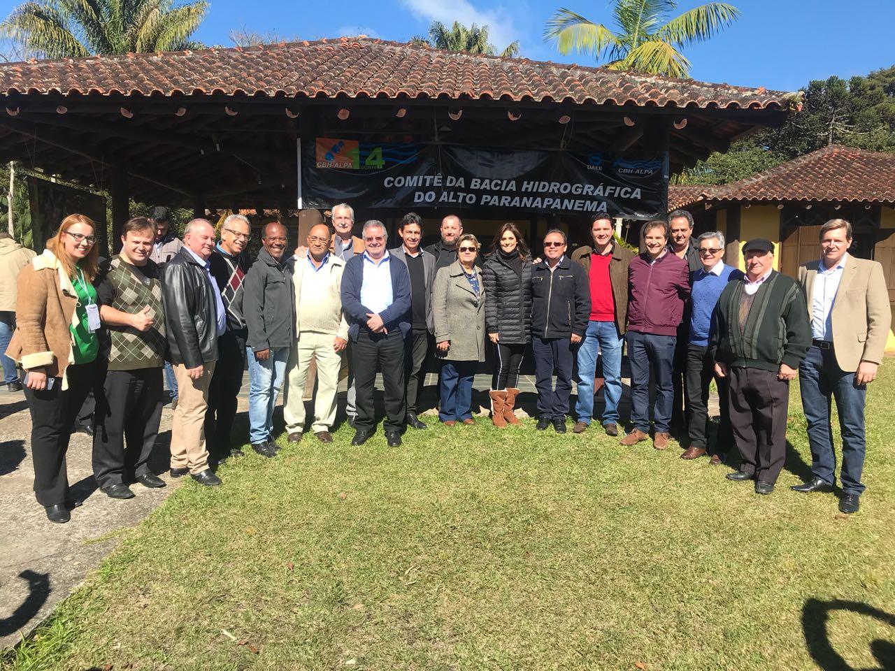 Em São Miguel Arcanjo (SP), prefeito de Itararé (SP) participa de mais uma reunião do CBH-Alpa