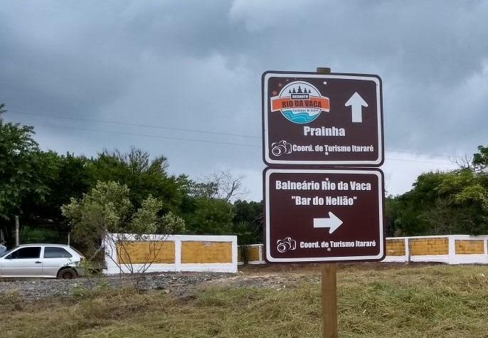 Prefeitura de Itararé (SP) inicia projeto inédito de sinalização de atrativos turísticos