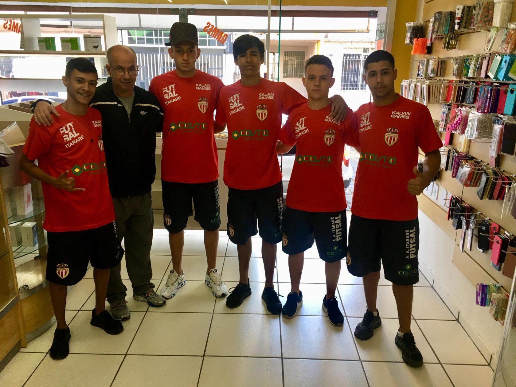 Itararé (SP) confirma participação na Copa Tv Record de Futsal 2018