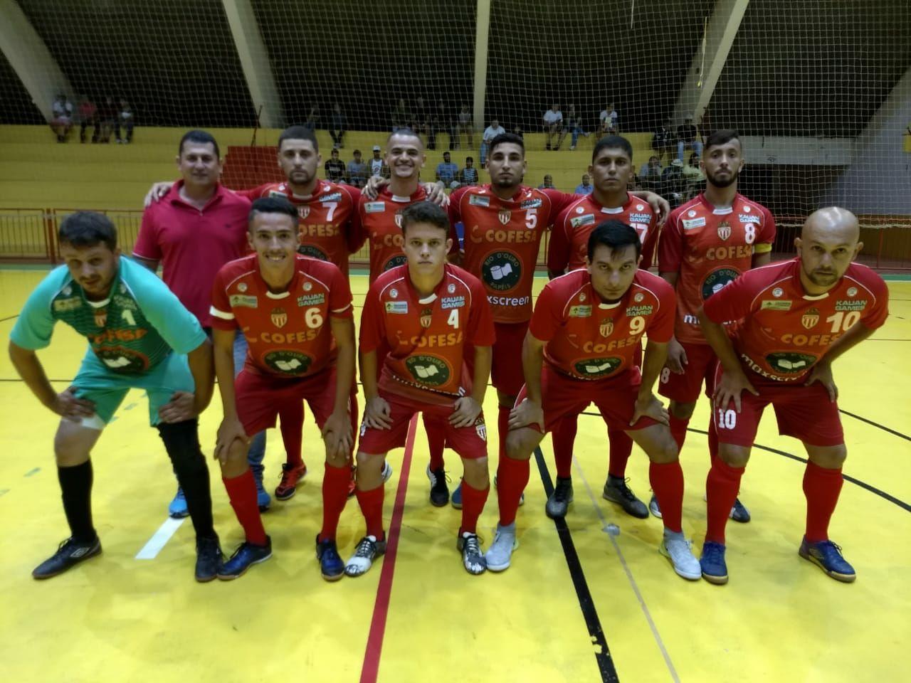 Itararé (SP) estreia com empate na Copa TV TEM de Futsal