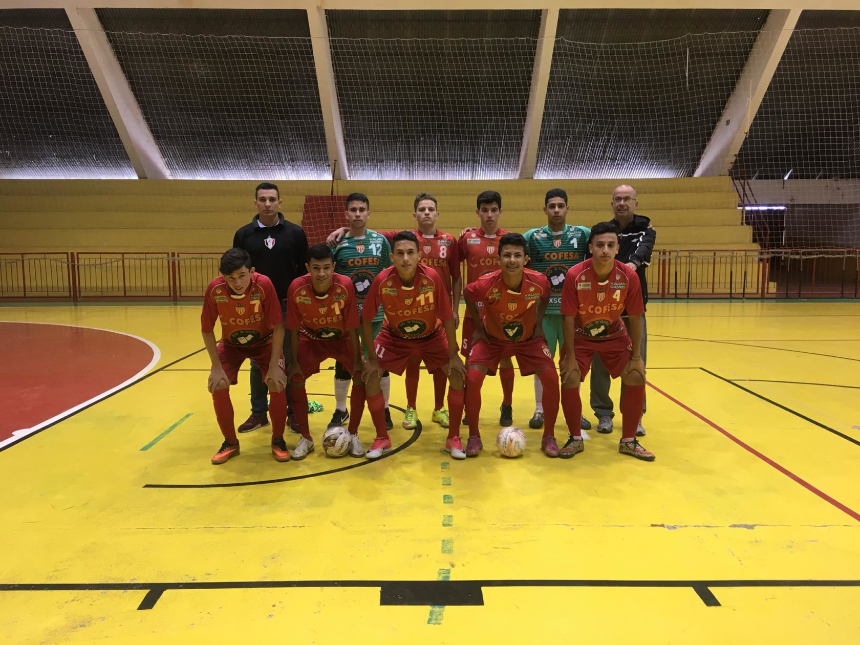Futsal de Itararé (SP) está na semifinal do Jogos da Juventude