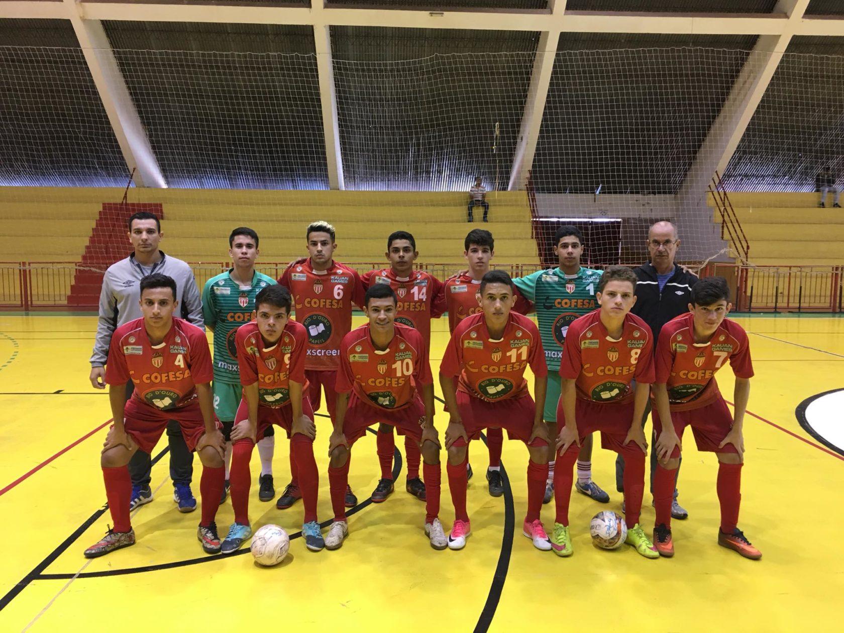 Futsal de Itararé (SP) disputa segunda fase dos Jogos Abertos da Juventude