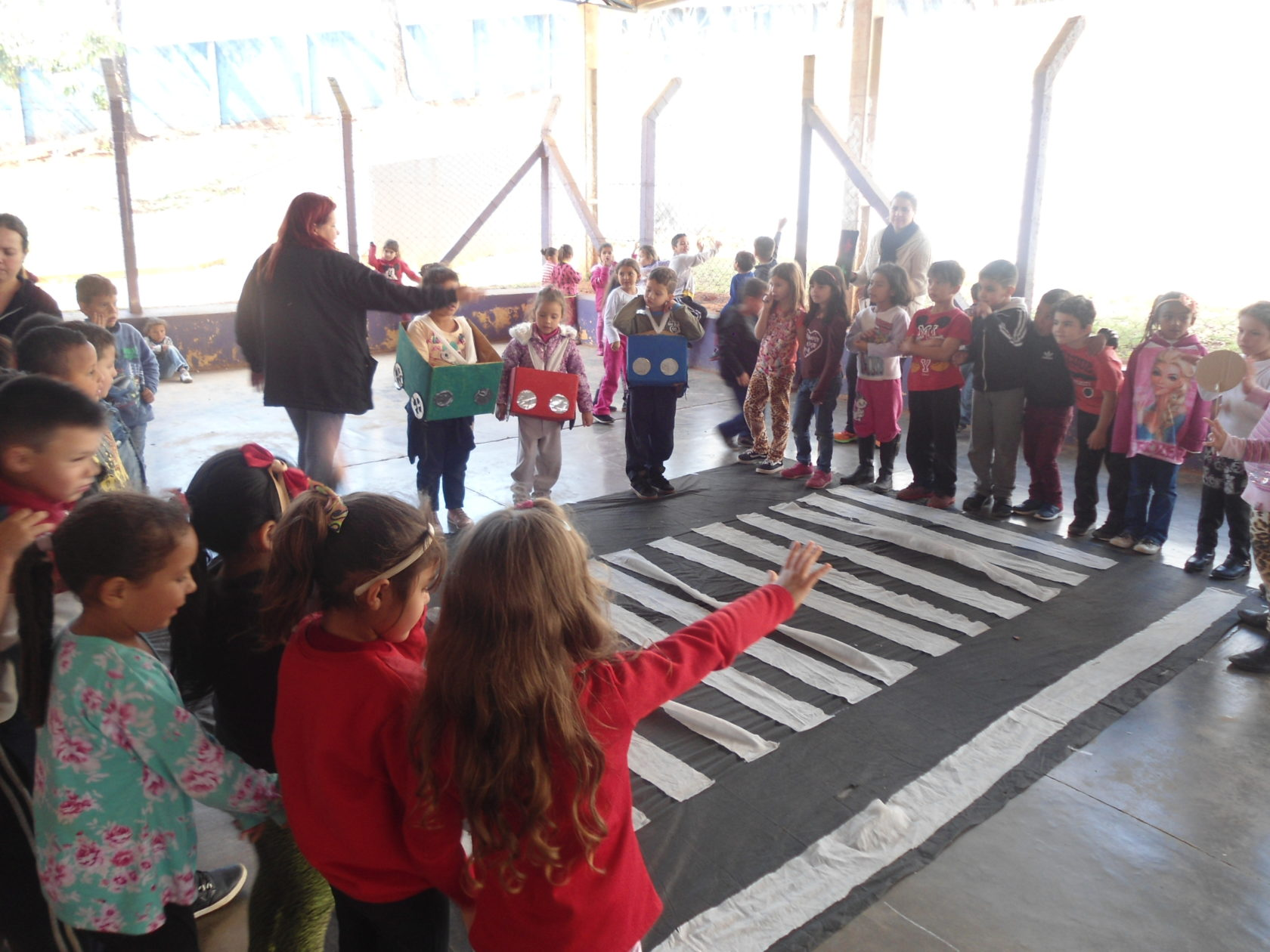Em Itararé (SP), alunos da EM Maria de Jesus encerram o projeto Educação Viária é Vital