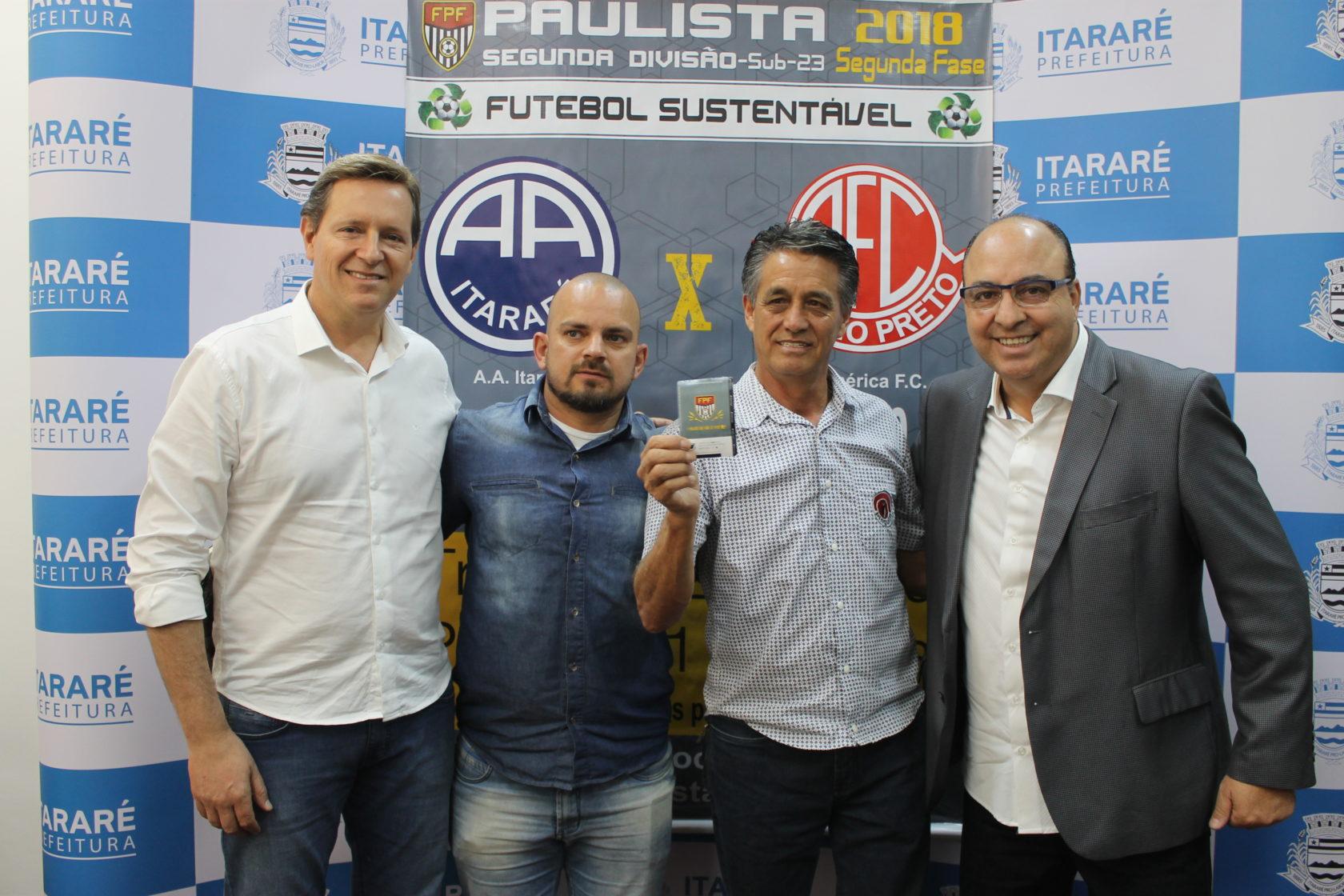 Projeto Futebol Sustentável arrecada mais de 5.500 mil garrafas PETs em Itararé (SP)