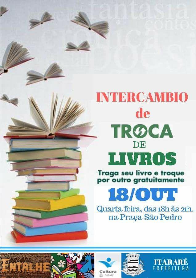 Cultura de Itararé (SP) realiza Intercâmbio de Troca de Livros nesta quarta-feira (18)