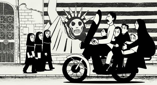 'Persépolis' está em cartaz no Teatro Municipal Sylvio Machado