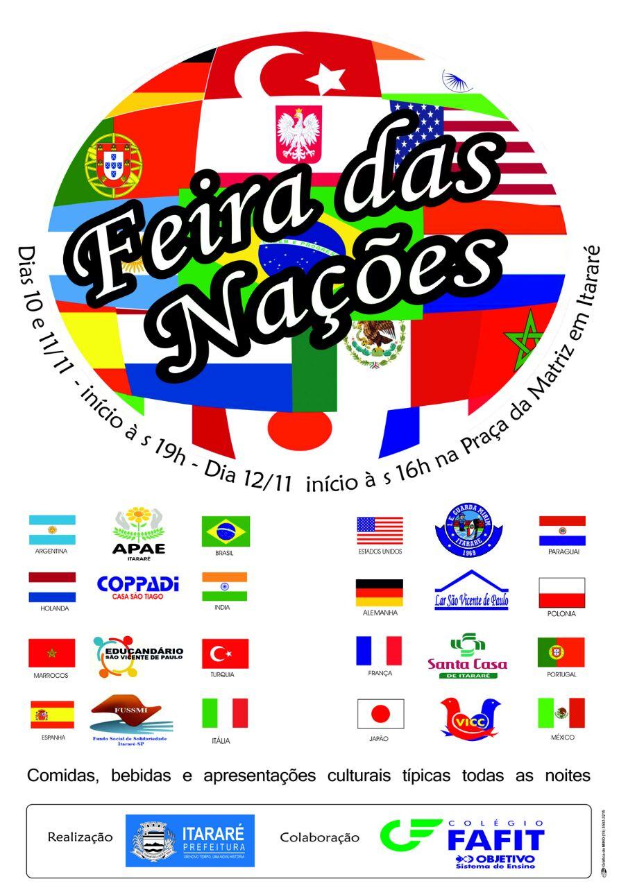 Feira das Nações acontece a partir desta sexta-feira (10) em Itararé (SP)