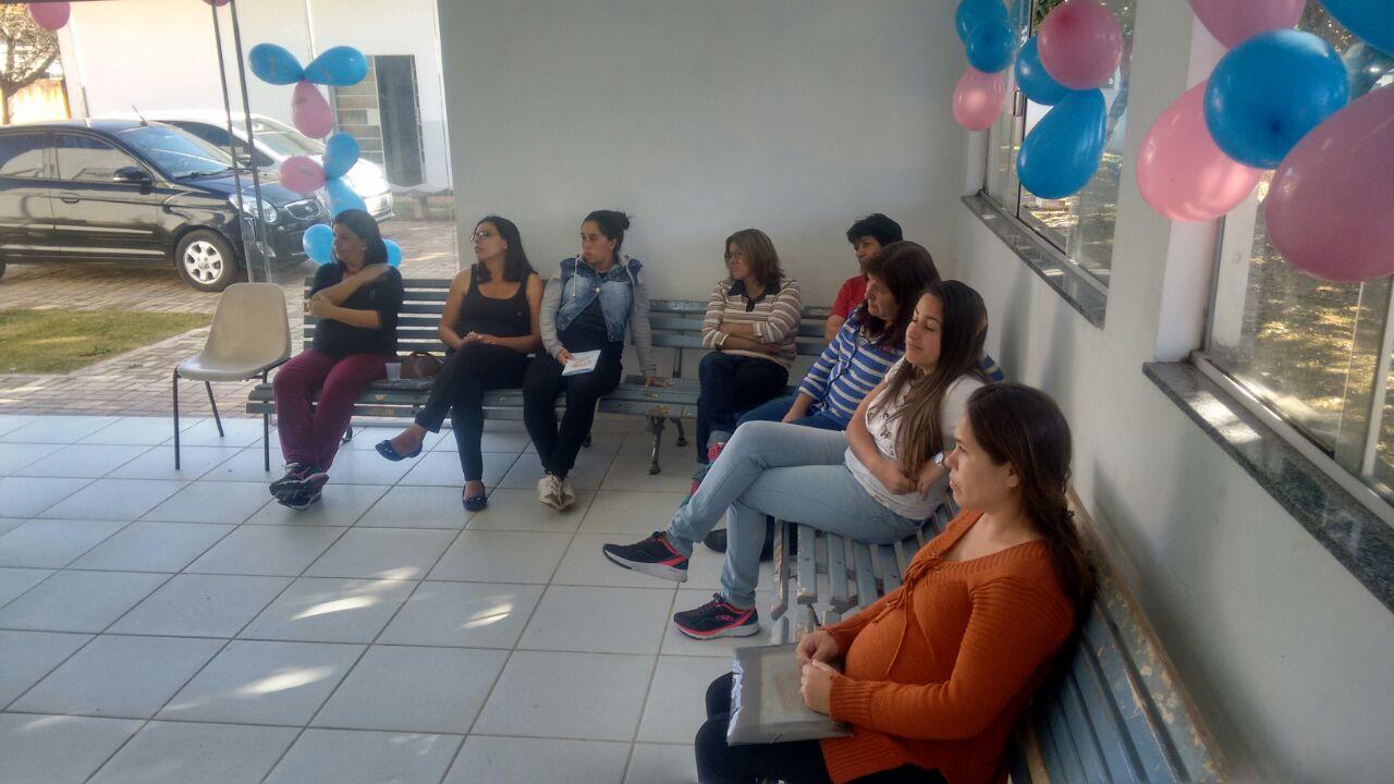 Gestantes da Vila Santa Terezinha em Itararé participam de encontro em unidade de saúde