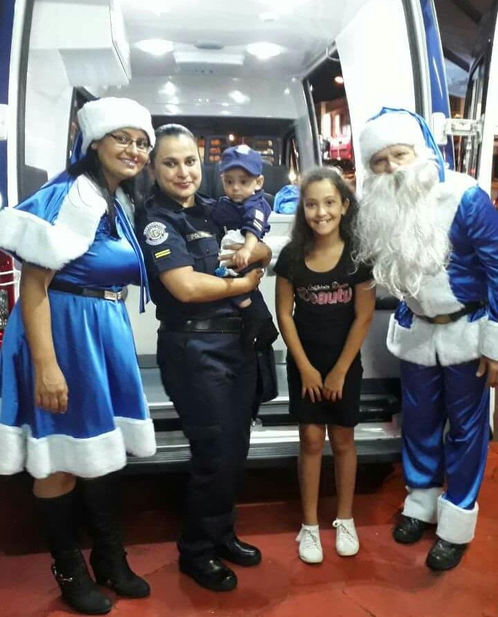 Papai Noel do Natal Encantado se despede neste sábado (23) de Itararé (SP)