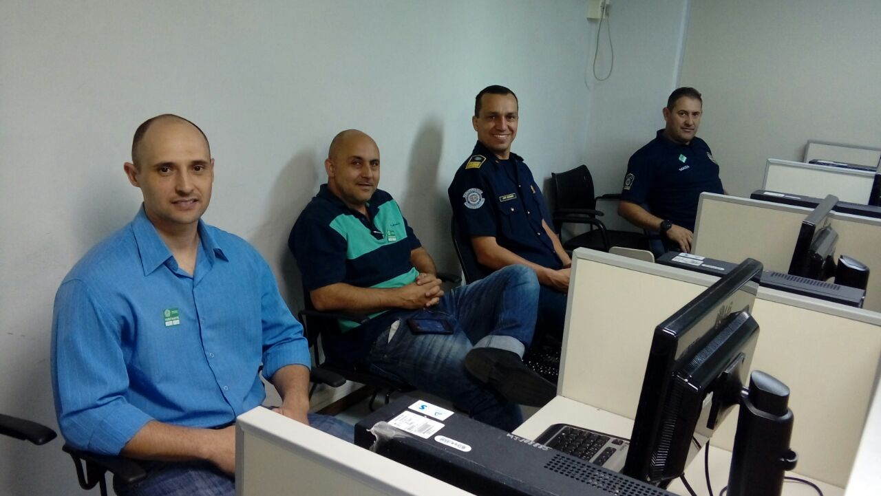 Em Brasília (DF), comandante da GCM de Itararé (SP) participa de treinamento
