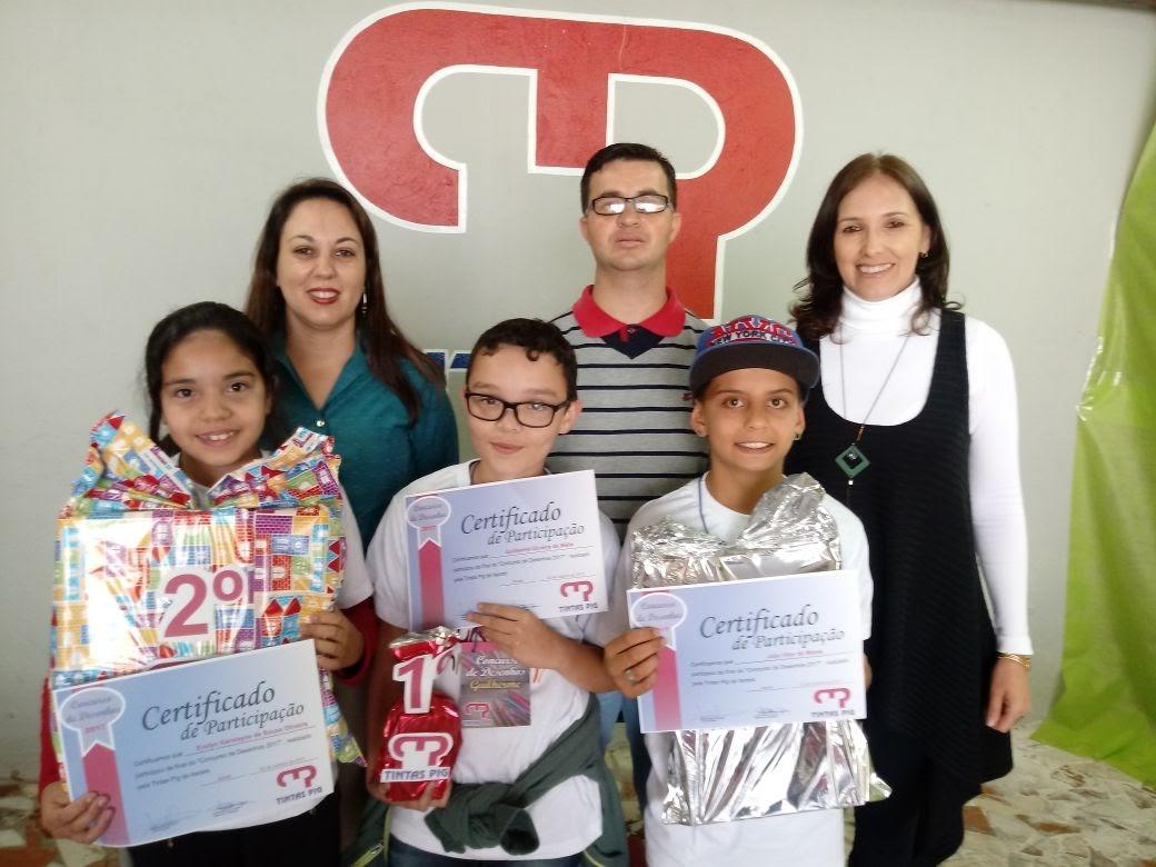 Alunos de Itararé (SP) vencem concurso de desenho