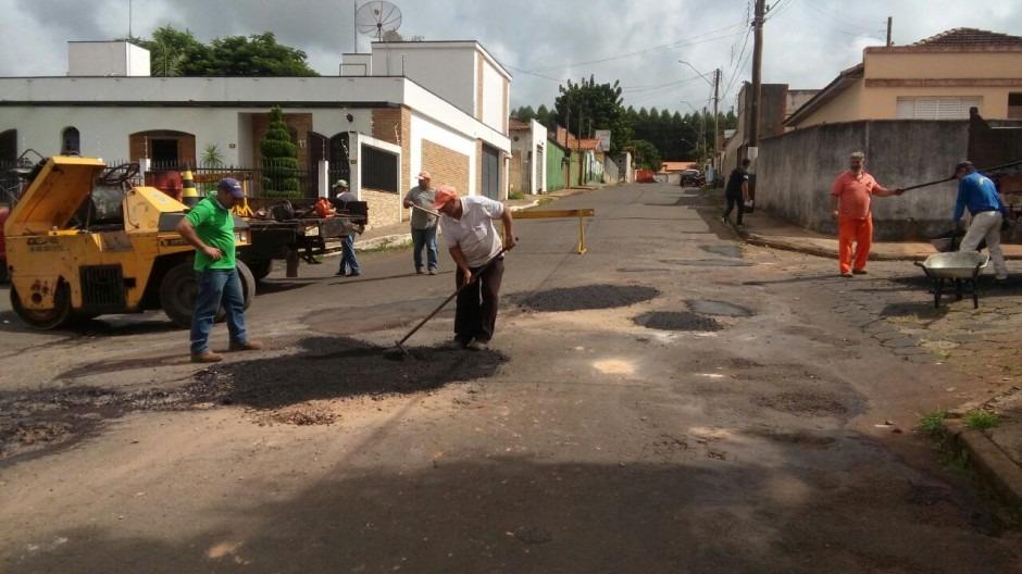 Prefeitura dá início a Operação Tapa Buracos