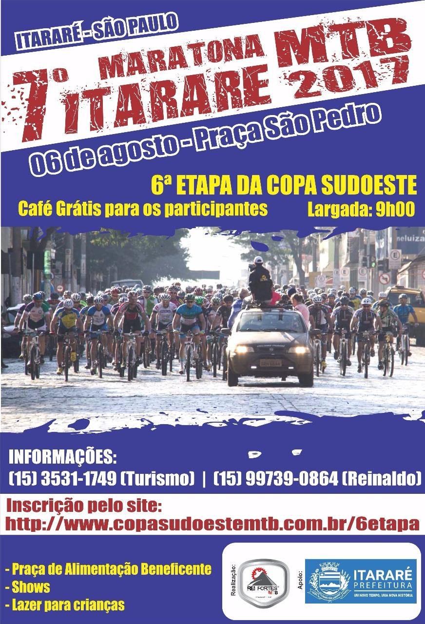 7ª Maratona MTB de Itararé 2017