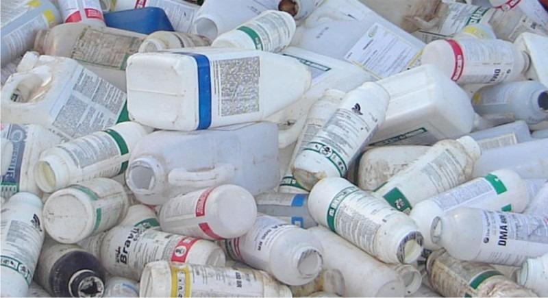 Secretaria de Agricultura vai recolher embalagens de agrotóxicos em 2 etapas
